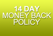 14 days money back policy